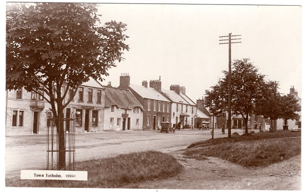 Town Yetholm, c.1925 - one of hundreds of images in the YHS archive.